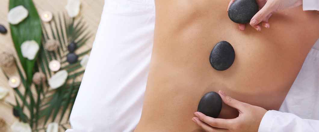 Destress With Hot Stones